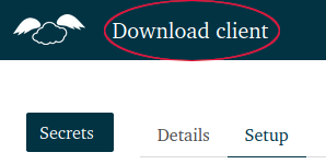 Location of Download button